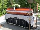 Bálint Árpád díszpolgárunk temetése Dobán